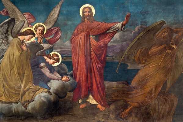 jesus banishing