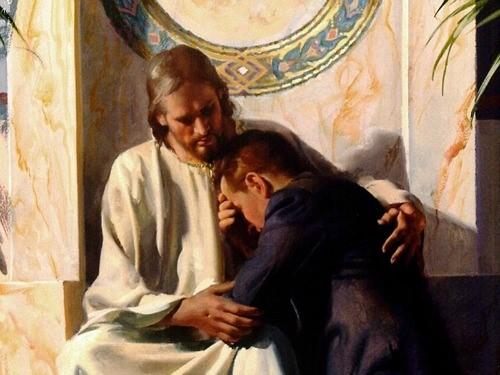 Jesus gives comfort